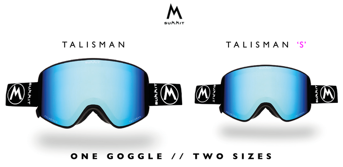 We appreciate that one size doesn't necessarily fit all, so we also created Talisman 's'. That's right, Talisman will be available in 2 sizes!