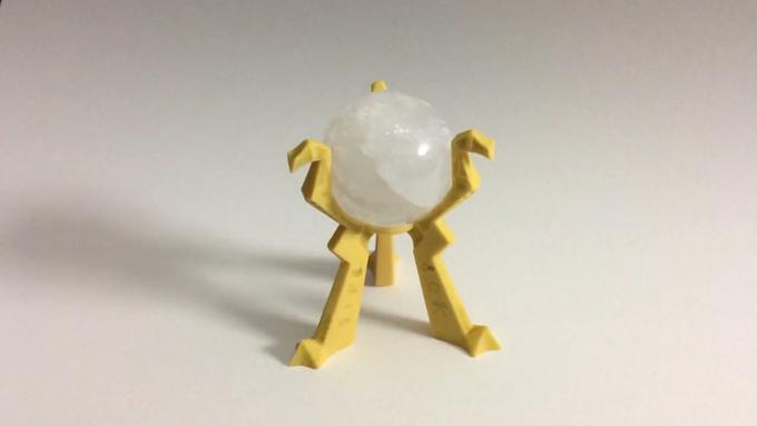 Orb of Destiny - Sandstone & Crystal