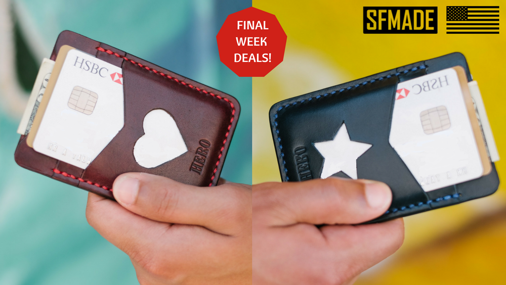 Disc Hero Wallet: Slim Minimalist Sleeve Wallets Made In USA project video thumbnail