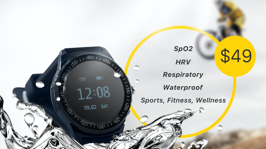 FitOn: World's 1st Blood Oxygen Saturation Smartwatch by