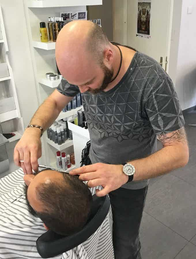Le barbier et la montre Wilhelm Tell / The barber and the Wilhelm Tell watch