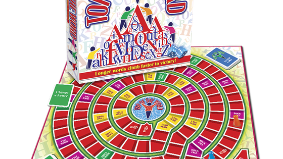 TOP OF THE WORD -This board game is perfect for all ages.