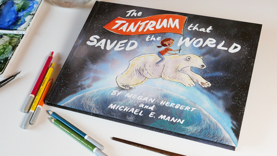 The Tantrum That Saved The World: carbon neutral kids' book