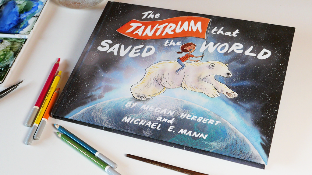 The Tantrum That Saved The World: carbon neutral kids' book project video thumbnail