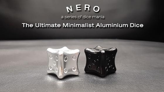 NERO Dice : The Ultimate Minimalist Aluminum Dice