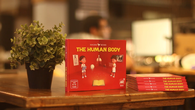 """The Human Body""  Book"