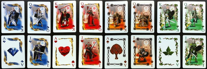 Kingdoms of Erden Playing Cards