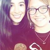 Jaclyn and Yasmin