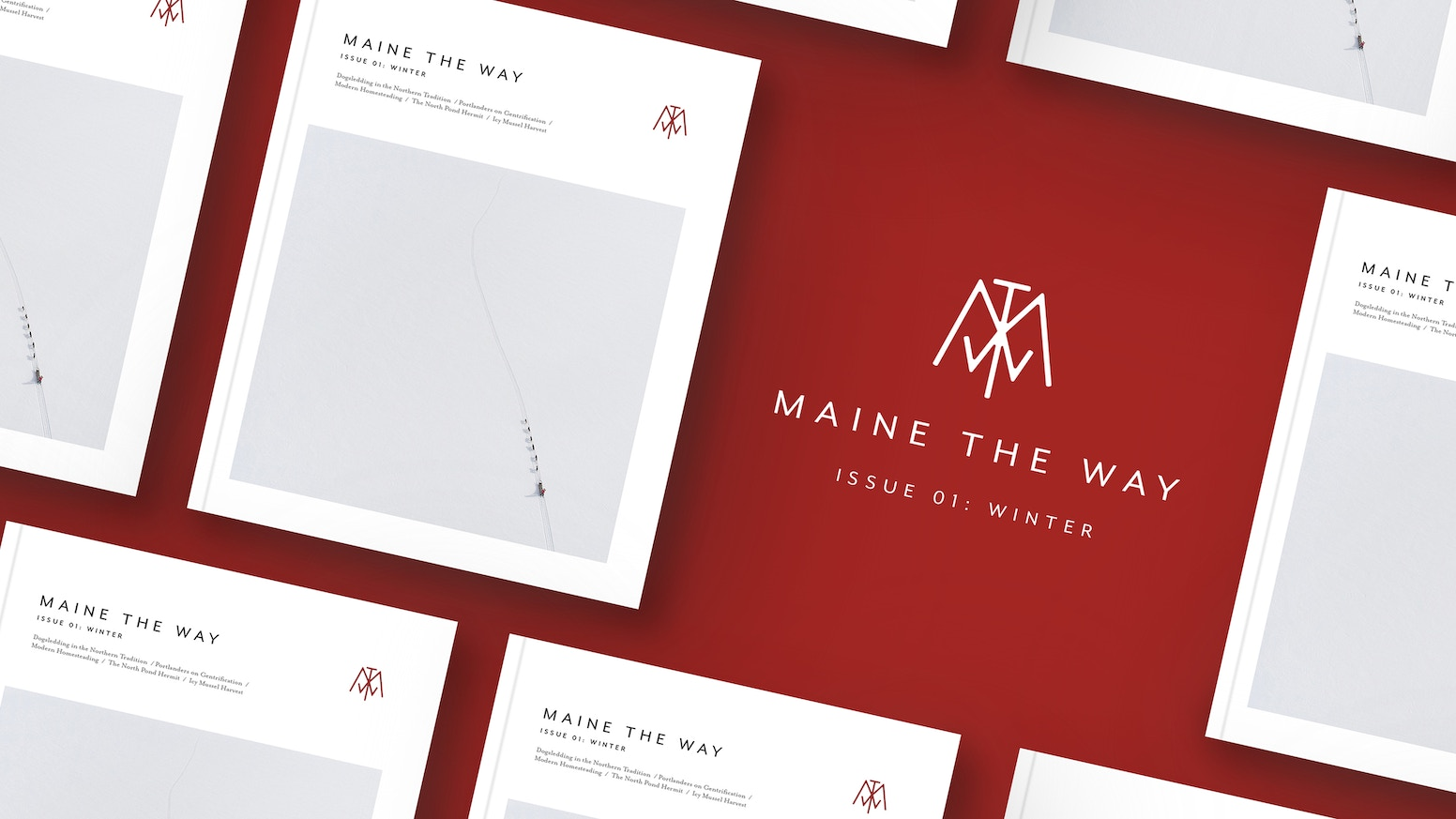 Introducing a new kind of publication about Maine.  Maine the Way is focused on high-quality art direction and long-form journalism.
