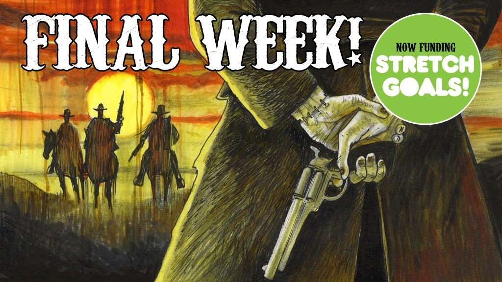 Frankenstein, Texas - a 48 page western horror graphic novel project video thumbnail