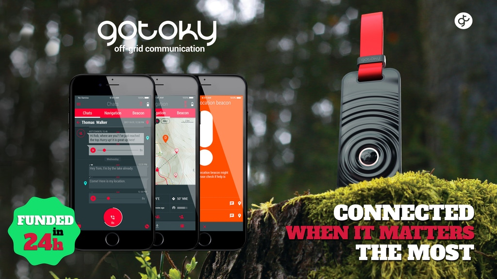 GOTOKY. Most advanced private off-grid communication network project video thumbnail