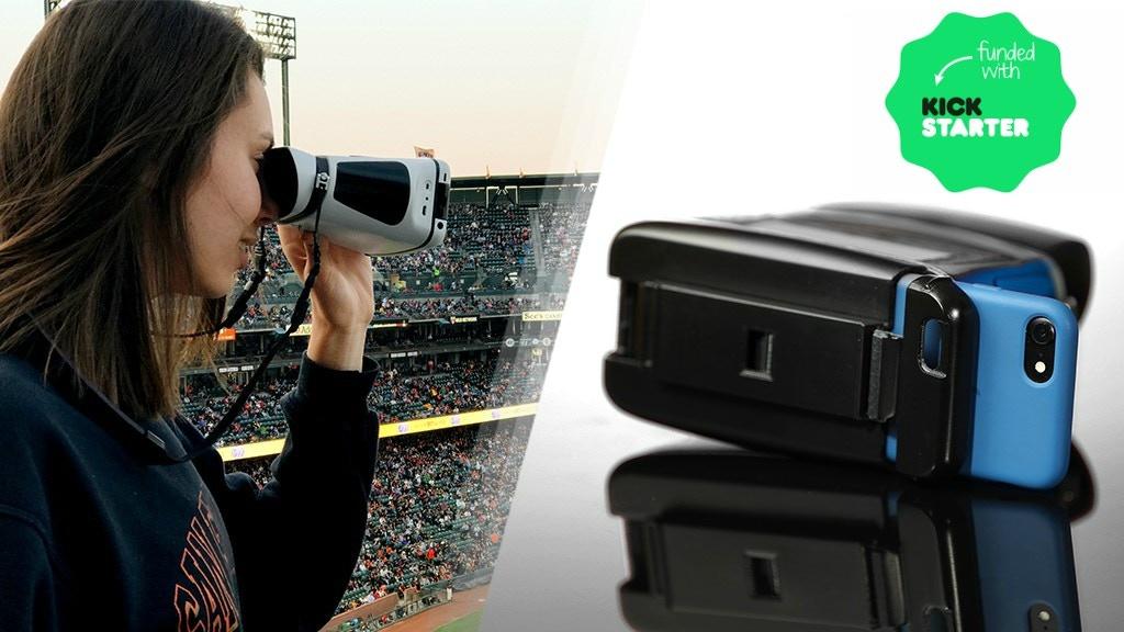 World's 1st Immersive Smart Capture Binoculars :: eyeQ project video thumbnail