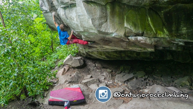 Ontario Rock Climbing Instagram