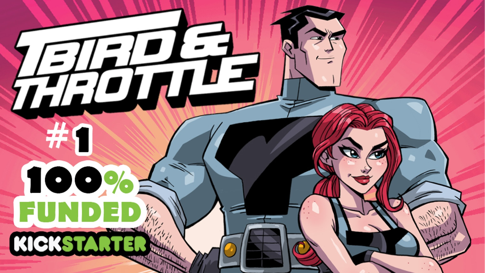 T-Bird & Throttle is a sci-fi superhero epic 20 years in the making. Inspired by comics like The Dark Knight Returns and Fantastic 4.
