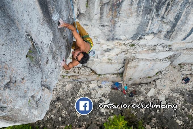 Ontario Rock Climbing Facebook