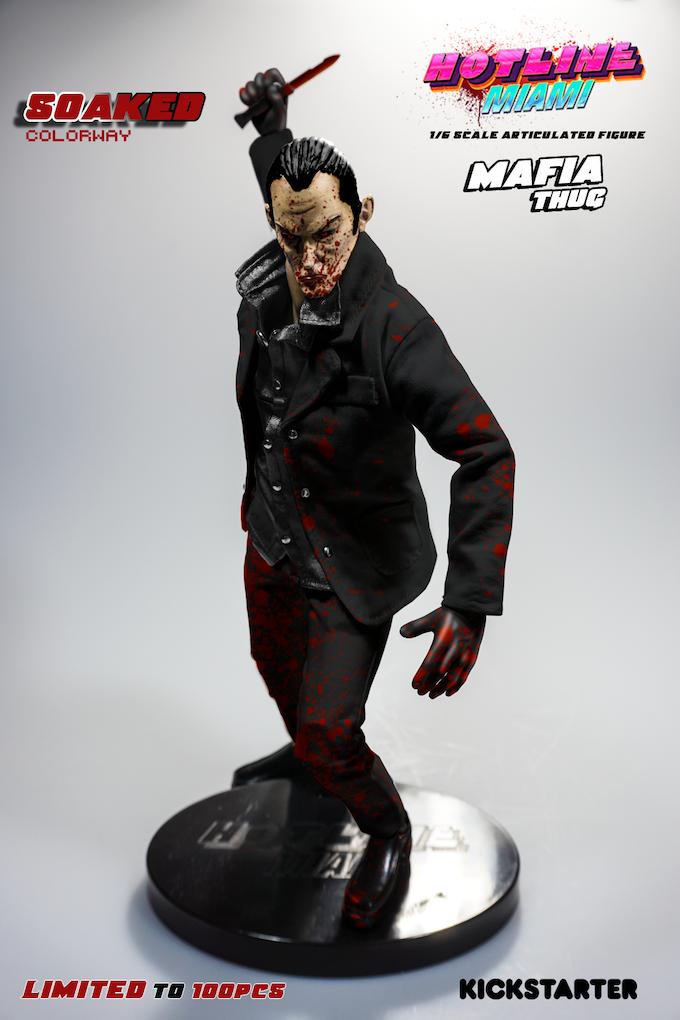 *Prototype of Soaked Mafia Thug figure