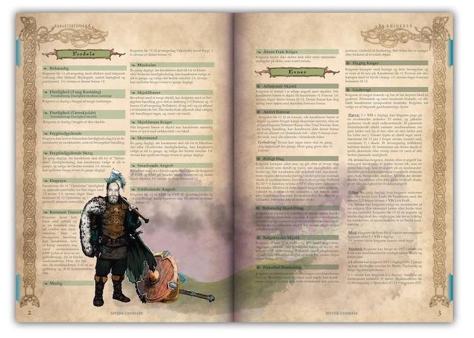 Et tættere blik på sidernes layout, som de ser ud pt.