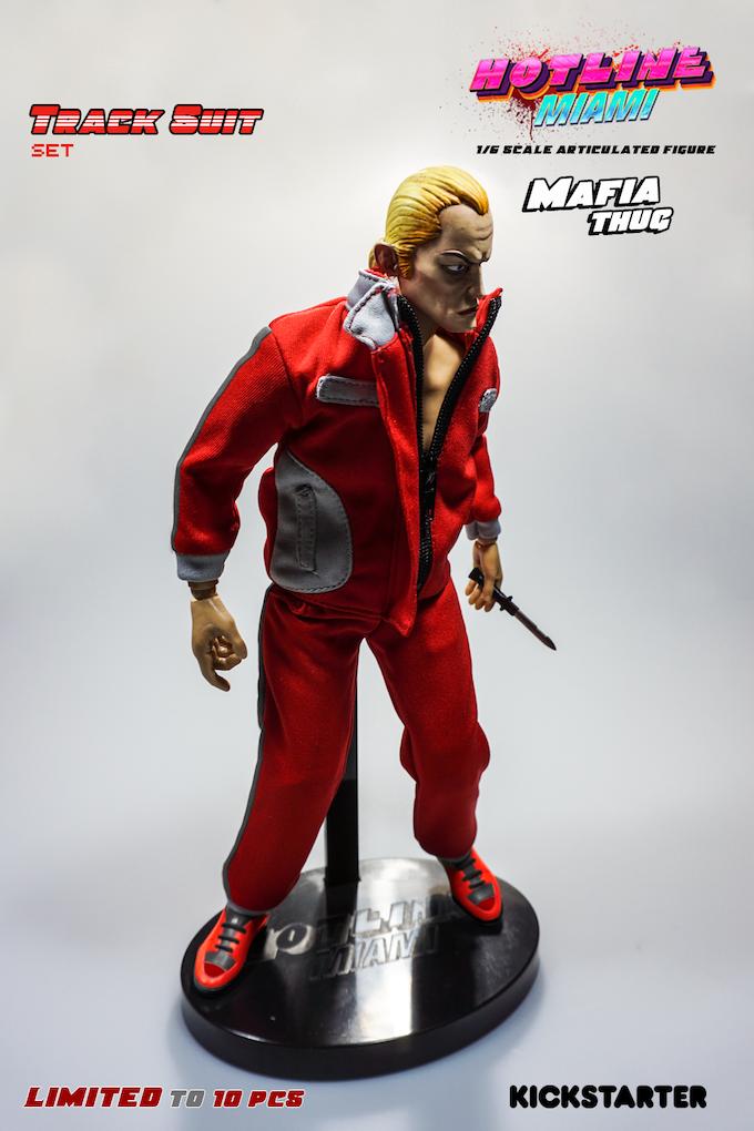 *Prototype of Track Suit Mafia Thug figure