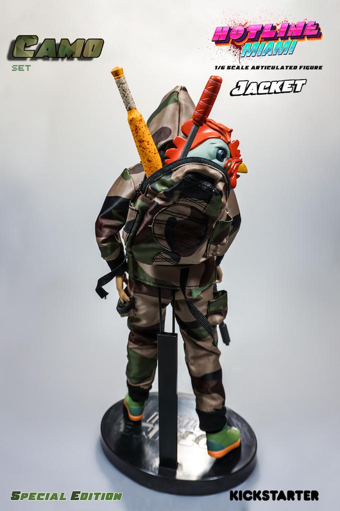 *Prototype of Camo Jacket figure
