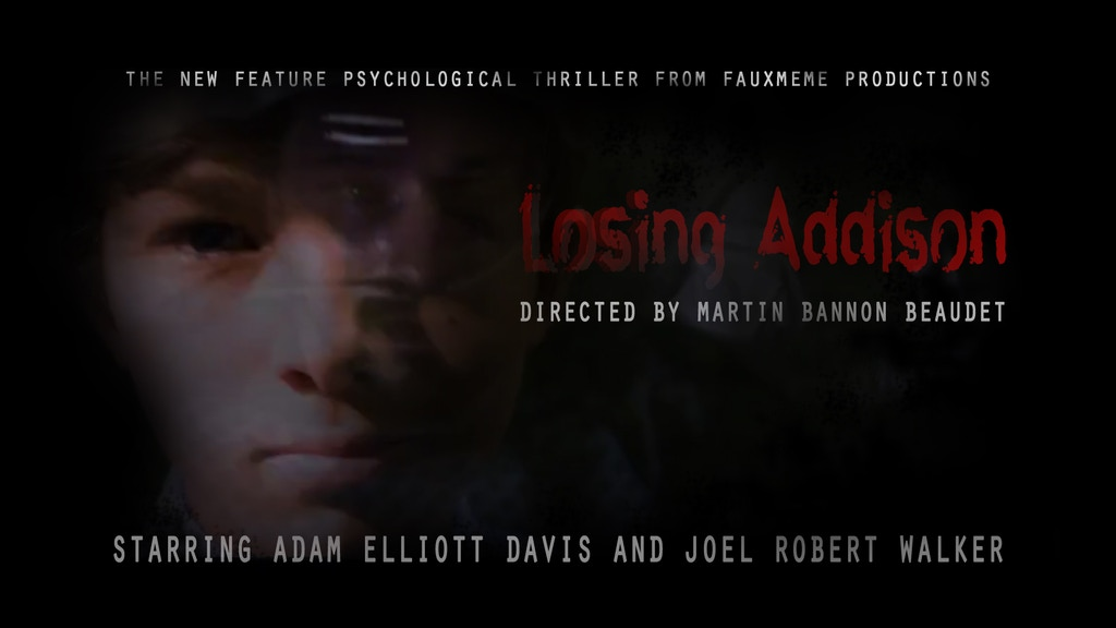 Losing Addison - a feature psychological thriller project video thumbnail