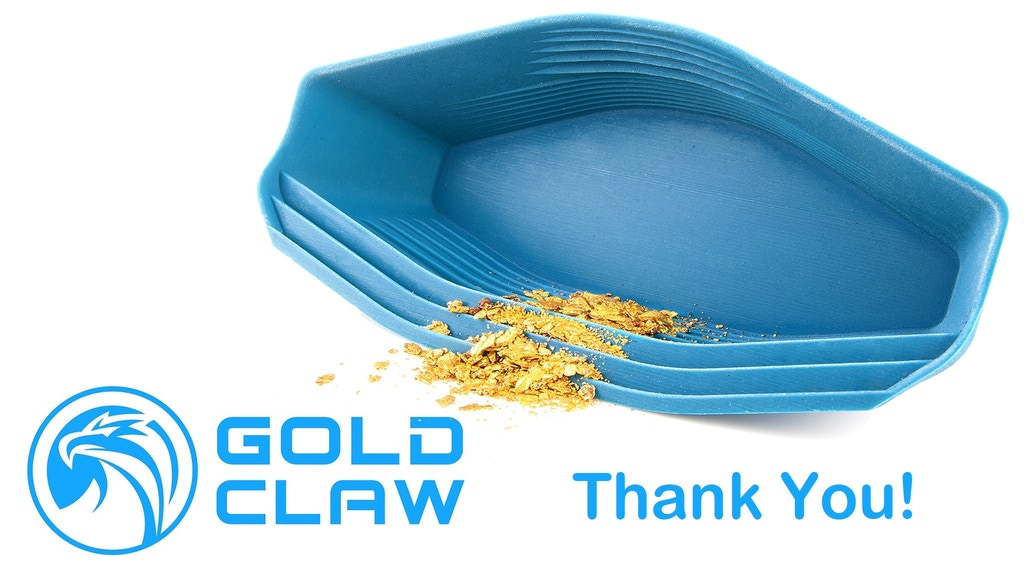 Exciting pocket-sized Gold Pan catches gold for you project video thumbnail