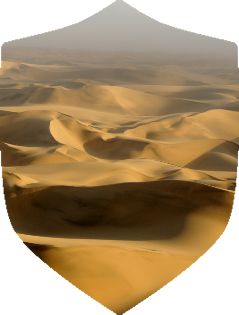 It would be easy to believe The Sivatag Desert was devoid of life - but you would be wrong