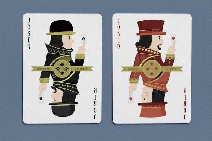 the four magician brothers form the black and red jokers