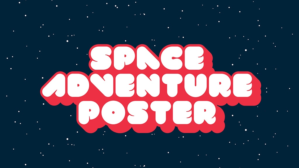 Project image for Space Adventure Poster