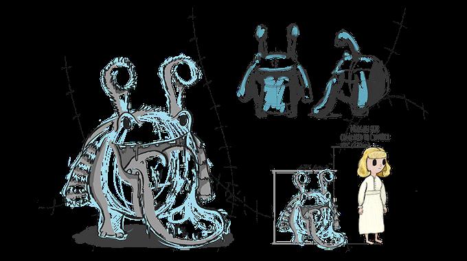 Norgan - creature concept