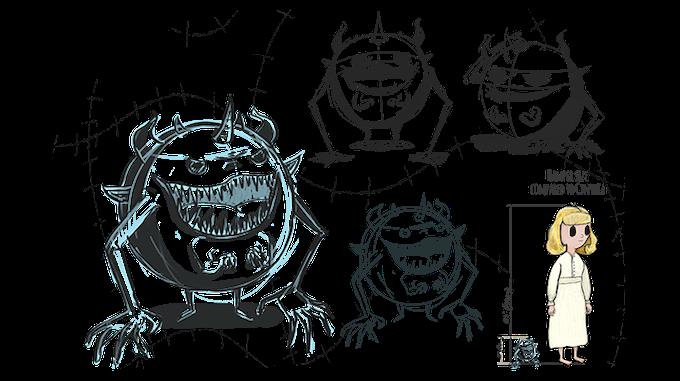 Hamper - creature concept