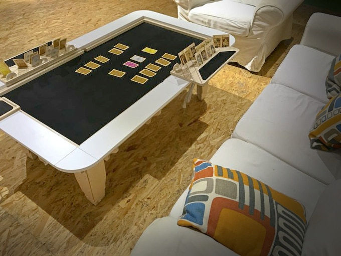 All Tables Of Ultimate Gaming Can Be Ordered Here On Kickstarter In Three Heights Coffee Table Standard And Tall Counter Top