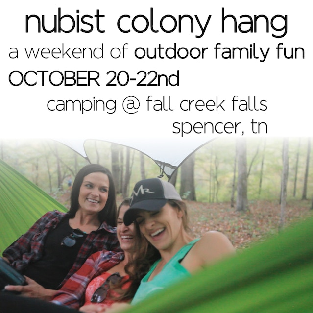 Nubist Colony Hang In Fall Creek Falls Tn Nubist Colony