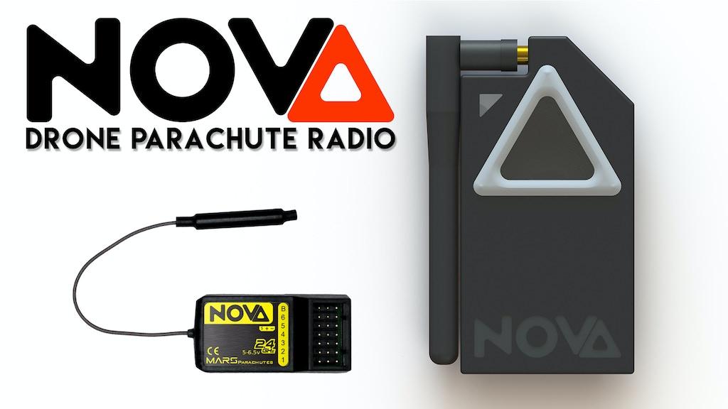 Mars NOVA - Drone Parachute Radio project video thumbnail