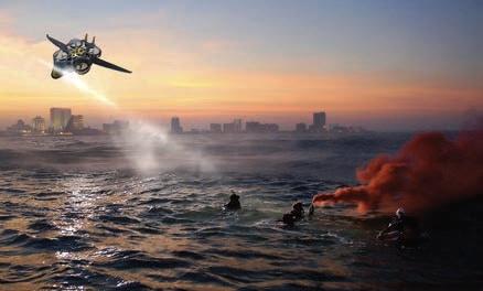 Inti Solace on a sea rescue mission