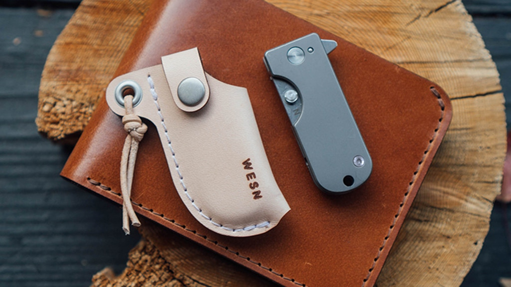 The Wesn Titanium Micro Blade Edc Pocket Knife Keychain By Billy