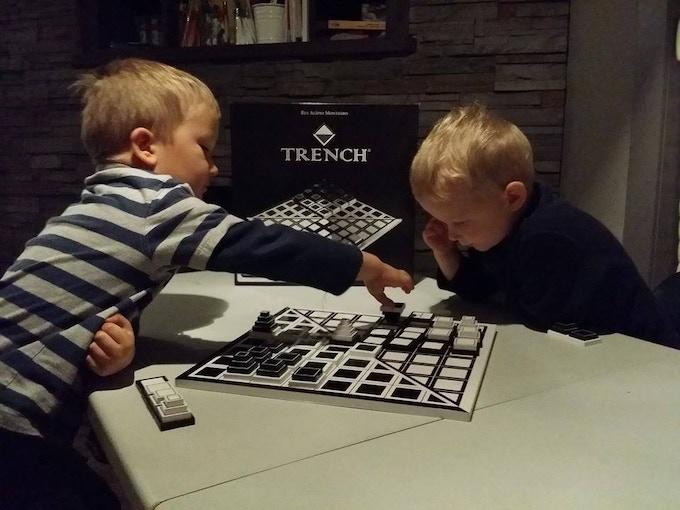 Kids love TRENCH too!