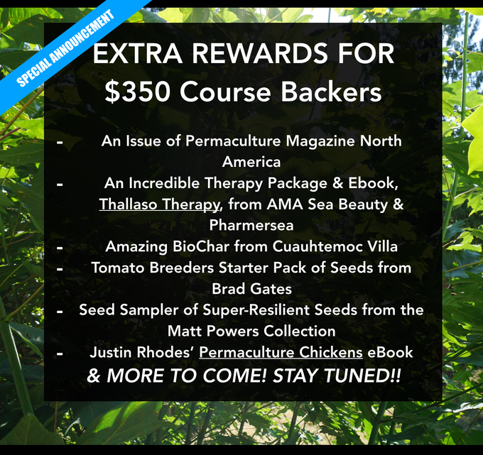 The advanced permaculture student online by matt powers kickstarter the advanced permaculture student online is a collection of regenerative solutions pathways for high schoolers college students and adults looking to fandeluxe Image collections