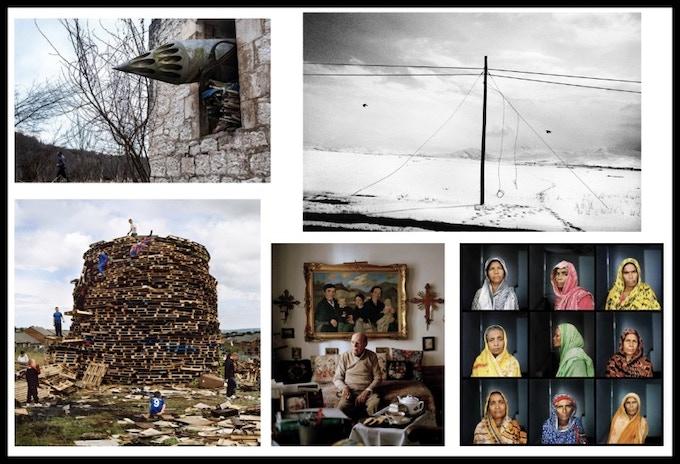 "T (L) Olga Ingurazova, ""Scars of Independence"" T (R) Kathryn Cook, ""Turkey & The Armenian Genocide""B (L) Adam Patterson, ""Men and My Daddy""B (C) Helena Schaetzle, ""The Time in Between: 9645 Kilometers Memory"" B (R) Elizabeth Herman, ""Women Warriors"""