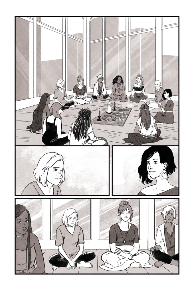 A page from Amy Shand & Lisa Sterle's story
