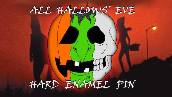 All Hallows' Eve (Hard Enamel) Pin