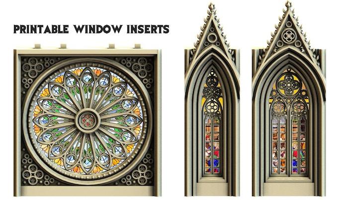 Printable window inserts