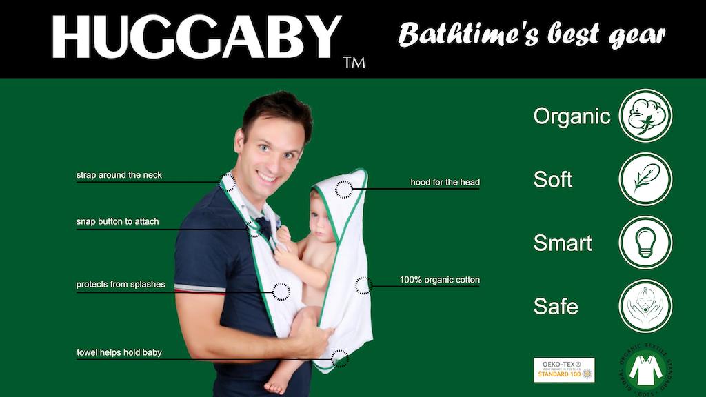 Huggaby, bathtime's best gear! project video thumbnail