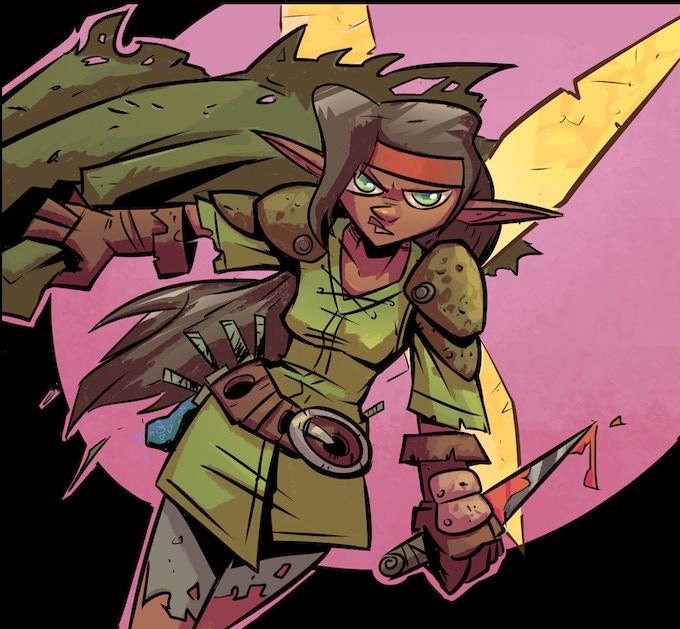 Akta, our heroine.