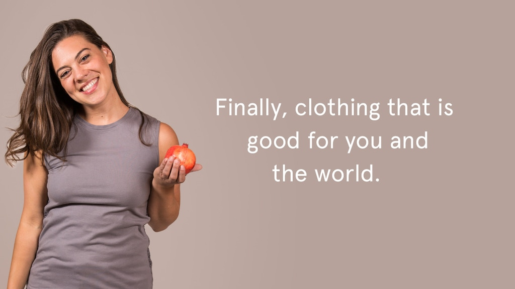 Healthy, Sustainable Clothing project video thumbnail