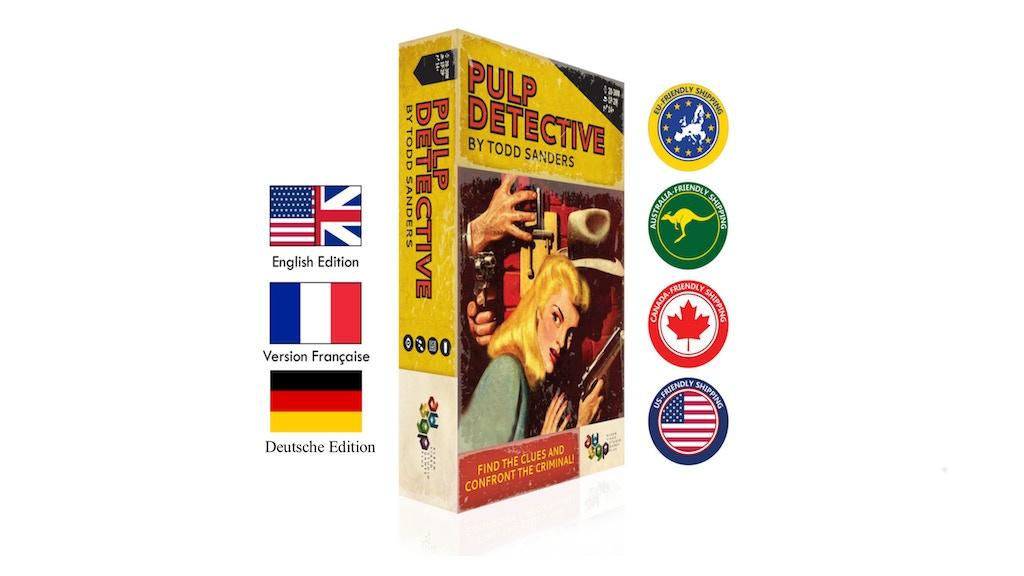 Pulp Detective project video thumbnail