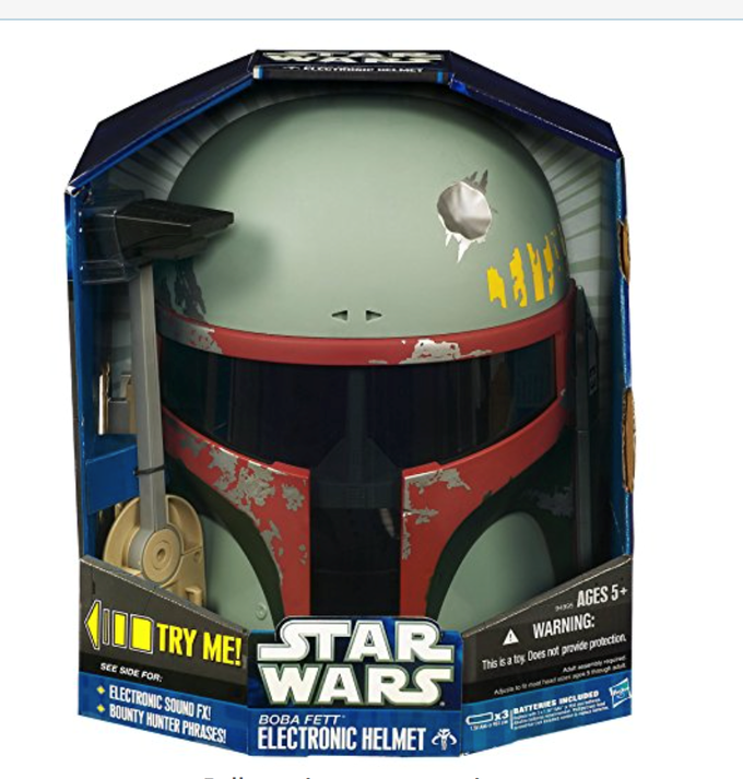 a rare helmet w bells and whistles - signed by Ben Burtt