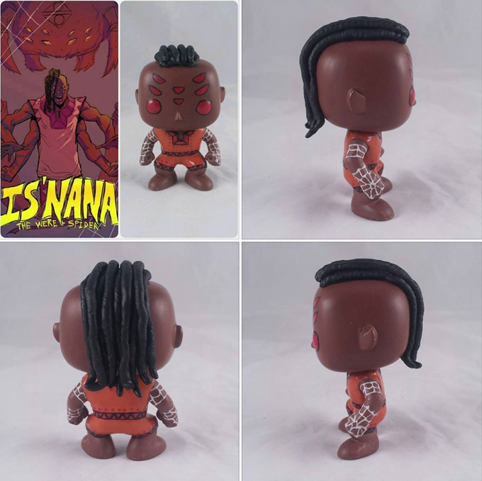 Custom Is'nana Funko Pop Vinyl Toy