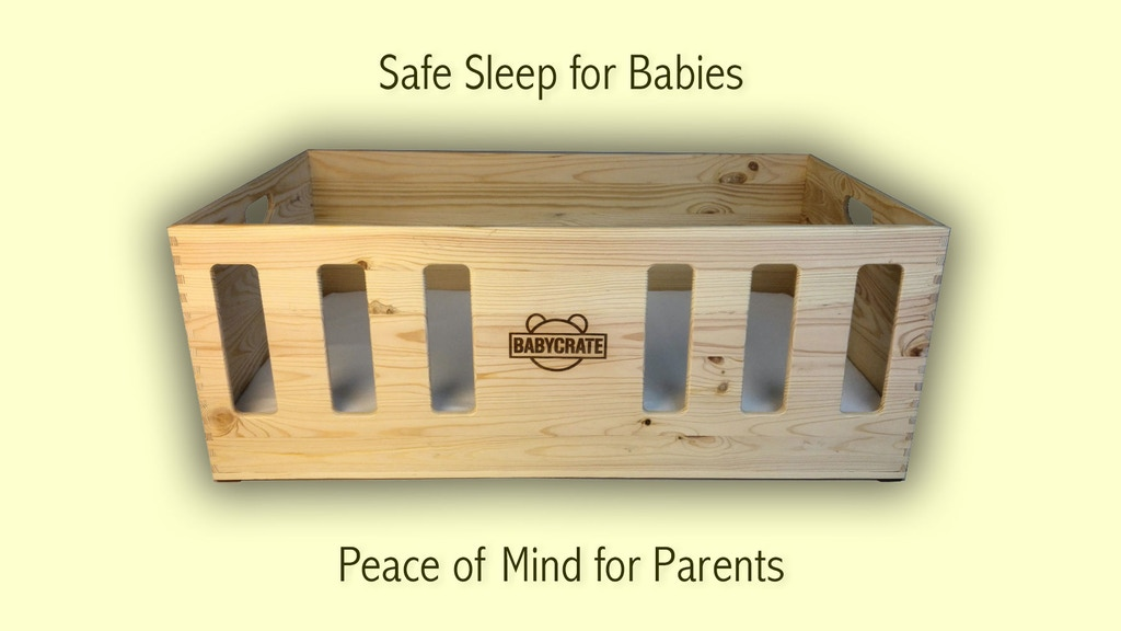 BabyCrate - the All-Natural Newborn Safe Sleep Bed project video thumbnail