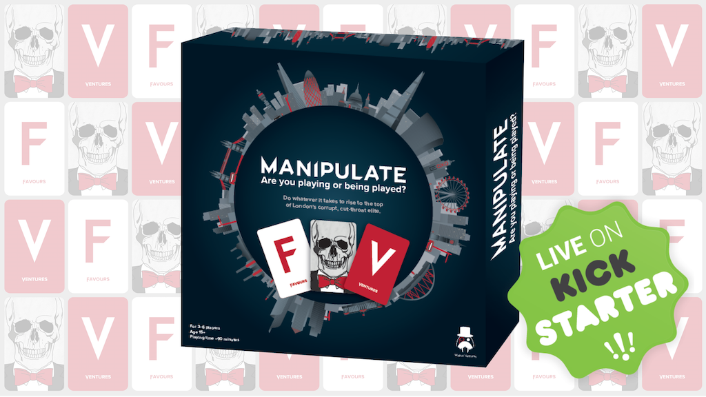 Manipulate Board Game - are you playing or being played? project video thumbnail