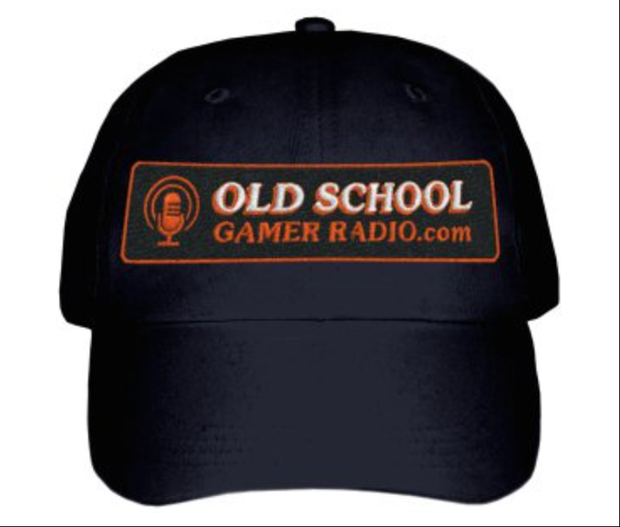 The official cap of Old School Gamer Radio